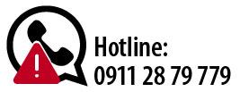 Telefonhotline 0911 2879779
